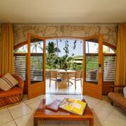 A garden room at Mar de Jade.