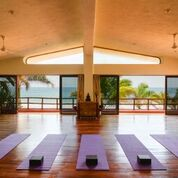 One of the meditation rooms at Mar de Jade, the site of our Compassion and Conflict training
